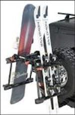 Yakima 8002418 - HitchSki SKI & BOARD CONVERSION MOUNT FOR BIKE HITCH RACK