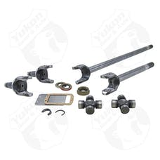 Yukon Gear & Axle YA W24110 - Yukon Front Axle Kit 4340 Chrome-Moly Replacement For Dana 30 84-01 XJ 97 And Newer TJ 87 And Up YJ