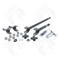 Yukon Gear & Axle YA W24166 - Yukon Axle Kit 4340 Chrome-Moly Replacement For 07-17 Dana 30 Front Non-Rubicon JK W/Superjoints