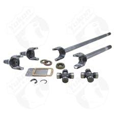 Yukon Gear & Axle YA W24168 - Yukon Axle Kit 4340 Chrome-Moly For 07-17 Dana 44 JK Rubicon Front W/ 7166X Joints