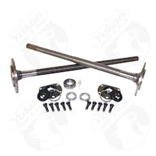 Yukon Gear & Axle YCJQ - One Piece Axles For 76-79 Model 20 CJ7 Quadratrack With Bearings And 29 Splines Kit