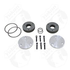 Yukon Gear & Axle YHC50001 - Yukon Hardcore Drive Flange Kit For Dana 44 30 Spline Outer Stubs Yukon Engraved Caps