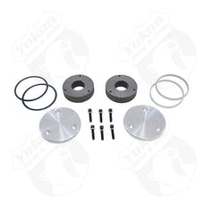 Yukon Gear & Axle YHC50007 - Yukon Hardcore Drive Flange Kit For Dana 44 19 Spline Outer Stubs Yukon Engraved Caps