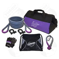 Yukon Gear & Axle YRGKIT-1 - Yukon Recovery Gear Kit With 7/8 Inch Kinetic Rope