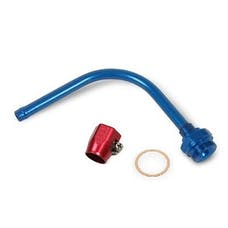 Earl's Performance Plumbing 105175LERL PUSH-ON 90 DEG TUBE TO 7/8-20