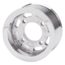 Edelbrock 15851 PULLEY SC E-FORCE TVS2300 10 RIB 3.25in. POLISHED