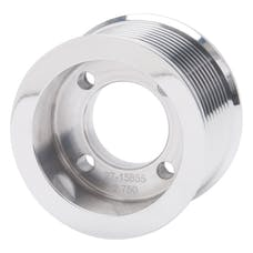 Edelbrock 15855 PULLEY SC E-FORCE TVS2300 10 RIB 2.75in. POLISHED