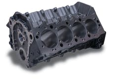 Edelbrock 450001 ENGINE BLOCK GM BBC SIAMESE 4.50in. BORE 9.800in. DECK HEIGHT CAST IRON 1pc REAR