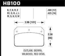 Hawk Performance HB100B.480 HPS 5.0