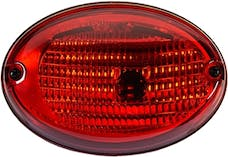 Hella Inc H24130041 3130 Agroluna Surface Mount Red Stop/Turn Lamp