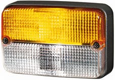 Hella Inc H24131021 7131 Amber/White Turn/Side Marker Lamp