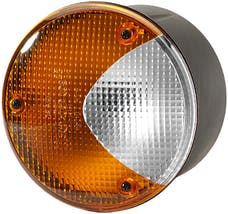 Hella Inc H24169027 4169 Amber/White Turn/Side Marker Lamp