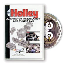 Holley 36-381 DVD-CARB INSTALLATION-PLASTIC CASE