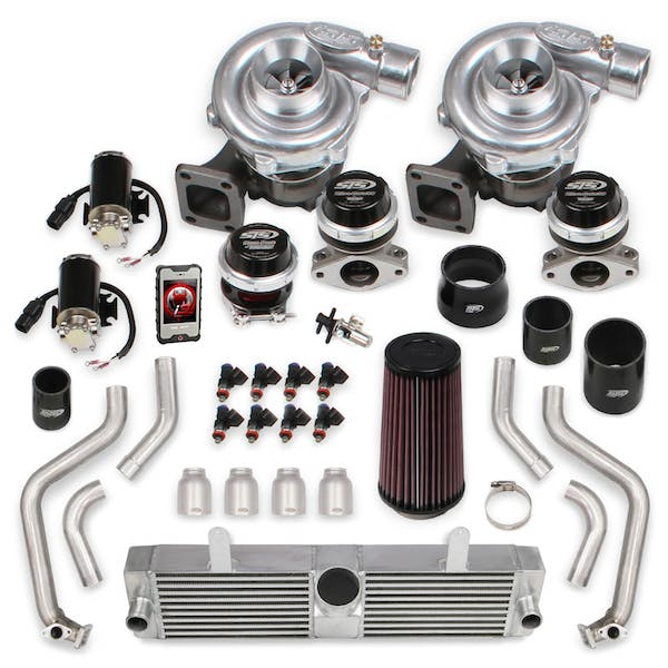 Holley STS2004 10-13 C6 GRANSPRT LS3 TURBO KIT WO TUNER