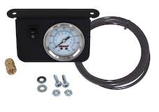 Kleinn Automotive Air Horns 1304 Illuminated 160 PSI Dual Needle Dash Panel Gauge Kit with ON/OFF Switch
