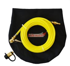 Kleinn Automotive Air Horns INF-1 Tire inflation kit with 30ft. coil hose; quick connect fittings and carrying cas