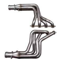 Kooks Custom Headers 29202400 1 7/8in. x 3in. Stainless Steel Long Tube Headers with Merge Collectors; O2 Bung