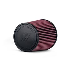"Mishimoto MMAF-3508 Mishimoto Performance Air Filter, 3.5"" Inlet, 8"" Filter Length"