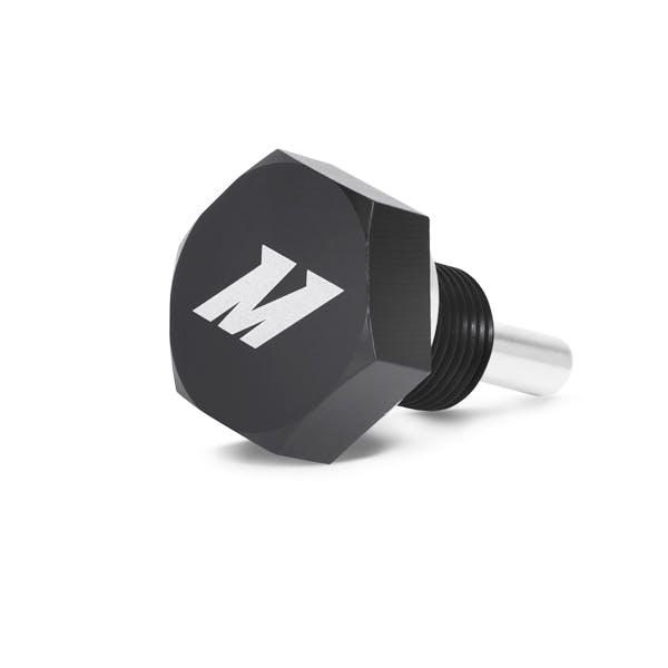 Mishimoto MMODP-14125B Magnetic Oil Drain Plug M14 x 1.25, Black