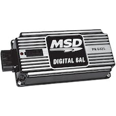 MSD Performance 64253 BLK MSD-6AL; Digital Ignition w/rev Cont
