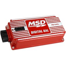 MSD Performance 6425 MSD DIGITAL 6AL IGNITION; WITH REV LIMITER