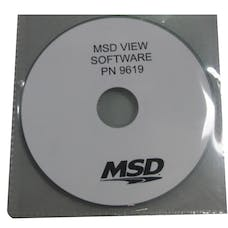 MSD Performance 9619MSD MSD View Software; CD-ROM