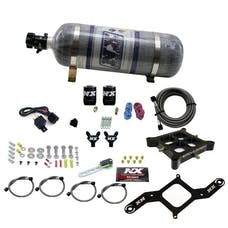 Nitrous Express 60542-12 4150 BILLET CROSSBAR; PRO POWER (100-200-300-400-500HP) WITH COMPOSITE BOTTLE.