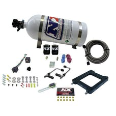 Nitrous Express 60570-10 Dominator Gemini PRO-POWER (100-200-300-400-500HP) WITH 10LB BOTTLE