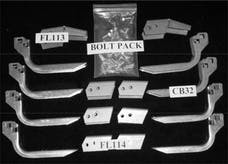 Owens Products 10-1016 BRACKET KIT FOR 68002-01 (MUST ORDER SEPARATELY)