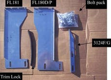Owens Products 10-1017 BRACKET KIT FOR 3156-01 (MUST ORDER SEPARATELY)
