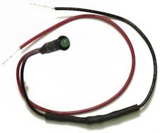Painless 80202 1/8in. LED Dash Indicator Light/Green