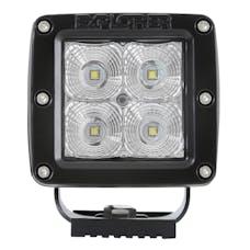 Pro Comp Suspension 76406P 2X2 SQUARE 5W LED PAIR S4 GEN2 FLOOD PATTERN