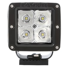 Pro Comp Suspension 76407P 2X2 SQUARE 3W LED PAIR S4 GEN2 SPOT PATTERN