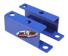 Tuff Stuff Performance 4652BBLUE BOOSTER BRACKET GM 55-58 BLUE POWDER COAT