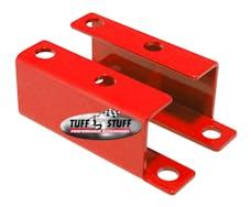 Tuff Stuff Performance 4652BRED BOOSTER BRACKET GM 55-58 RED POWDER COAT