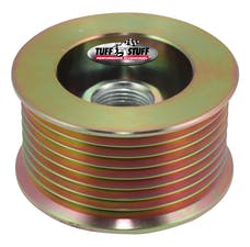Tuff Stuff Performance 7610DD Alternator gold zinc pulley 8 groove