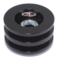 Tuff Stuff Performance 7610FB Alternator stealth black double V