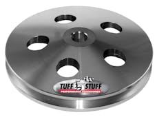 Tuff Stuff Performance 8488C MACHINED ALUMINUM POWER STEERING PUMP PULLEY PLAIN