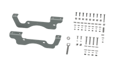 B&W Towing RVK2402 Custom Installation Kit For Universal Mounting Rails For Some Ford Trucks
