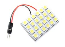 Race Sport Lighting RS-5050-24DOME-G 24 Chip 5050 LED Dome Panel (Green)