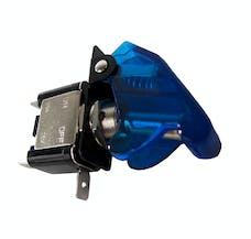 Race Sport Lighting RS-12V-BLUE 12V LED Toggle Switch (Blue)