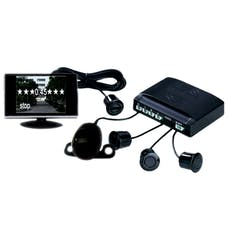 Race Sport Lighting RS-V602-B 4 Sensor Video Parking Safety System (Wired)
