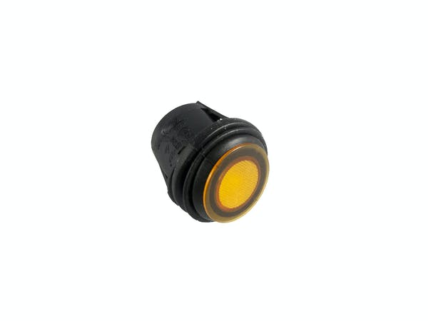 Race Sport Lighting RS-WP12A-Y Waterproof LED Rocker 12V/12A  Switch