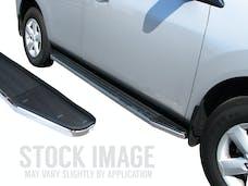Steelcraft 134300 STX100 Running Boards, Black/Stainless Trim