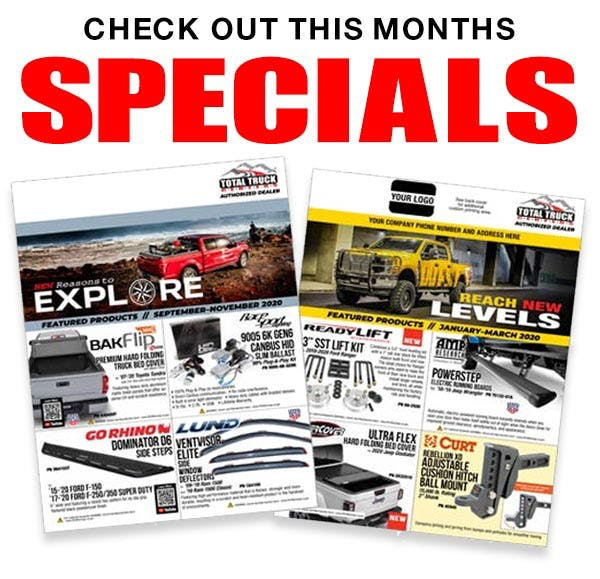 Check Out This Months Specials