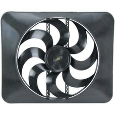 "Flex-A-Lite 180 Fan Electric 15"" single shrouded puller universal w/ controls"