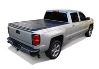 Truck Gear by Line-X FRP Hard Folding Tonneau Cover 2015-2017 Ford F150 5.5ft Bed