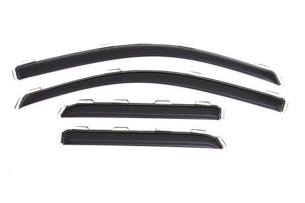 Low Profile Deflector 4 pc Auto Ventshade 894044 Side Window Vent-Ventvisor R