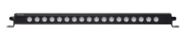 Putco 10020 LUMINIX HIGH POWER LED-20IN. LIGHT BAR-18 LED-7200LM-21.63X.75X1.5-INCHES.
