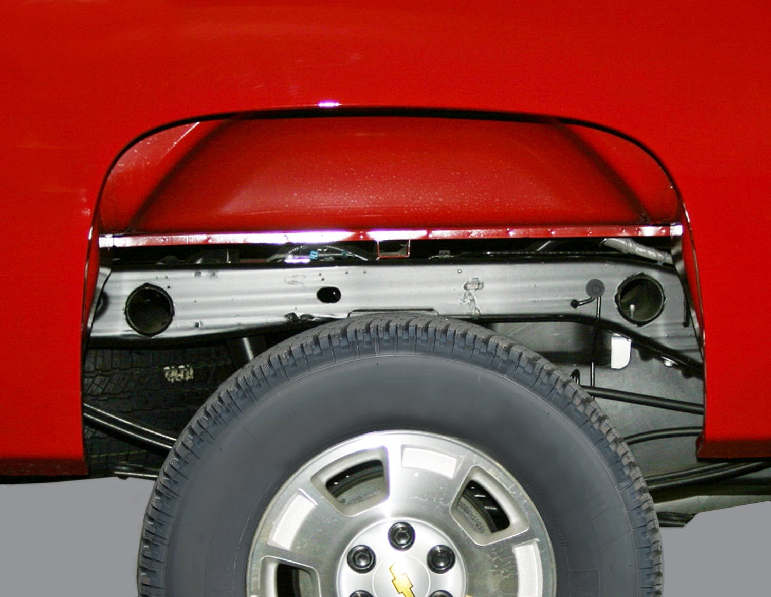 Rugged Liner WWC07 Wheel Well Liners for Chevrolet 1500 Series Pickup Truck